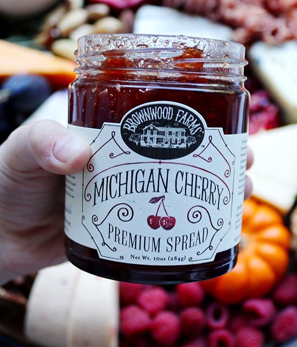 Brownwood Farms Michigan Cherry Preserves