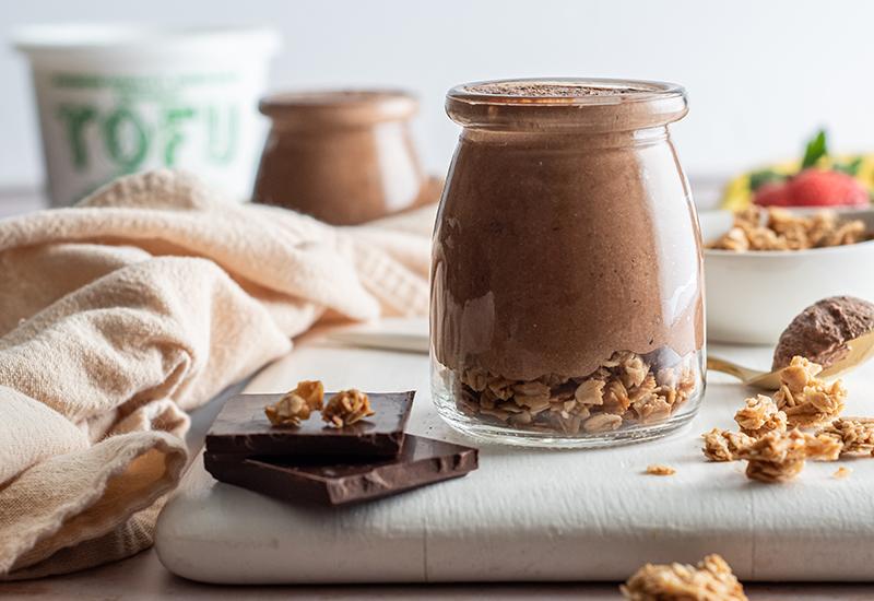 Chocolate Tofu Mousse