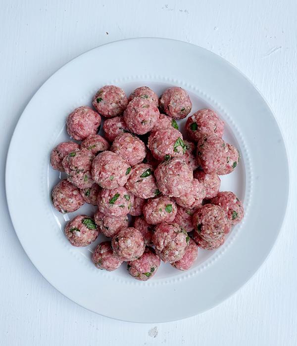Homemade Mini Meatballs