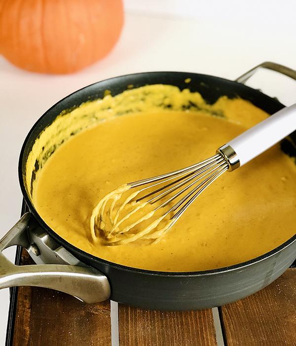 Pumpkin Alfredo Pasta Sauce