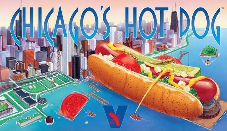 Vienna® Beef Chicago's Hot Dog  Poster