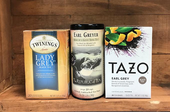 Earl Gray Tea Packages