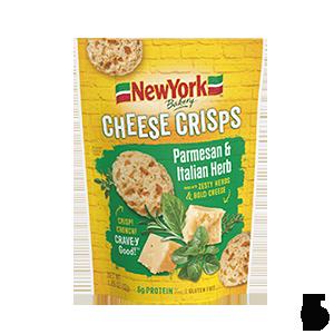 New York Bakery Cheese Crisps