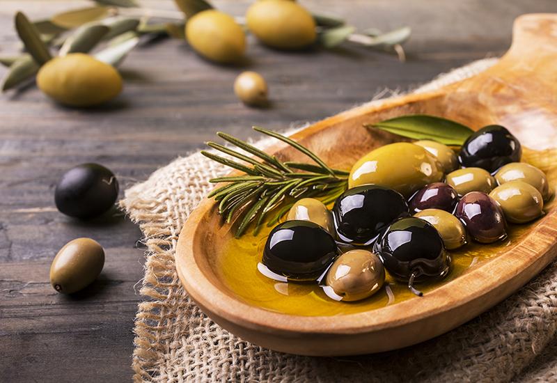 At the Market: Olives