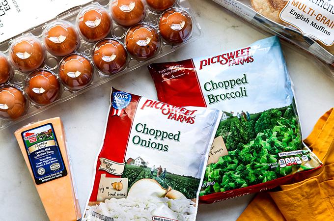 Broccoli Cheddar Egg Sandwiches