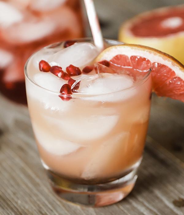 Pomegranate Grapefruit Sparkling Wine