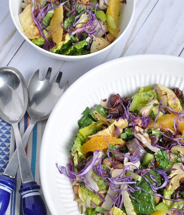 Winter Italian Chopped Salad