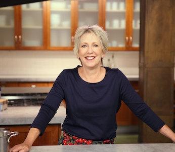 Carla Snyder in her kitchen