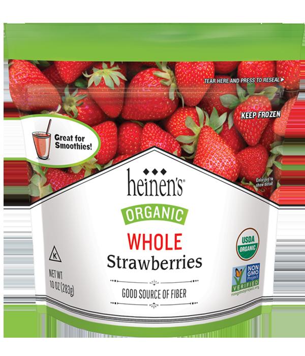 Heinen's Organic Frozen Stawvberries