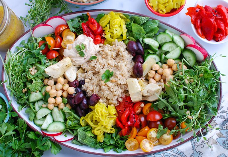 Loaded Greek Quinoa Salad