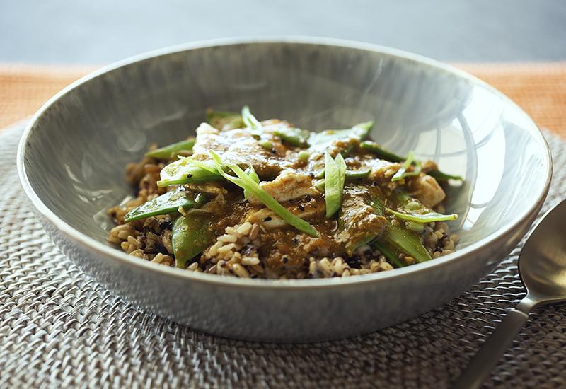 Moroccan Chicken Grain Bowl
