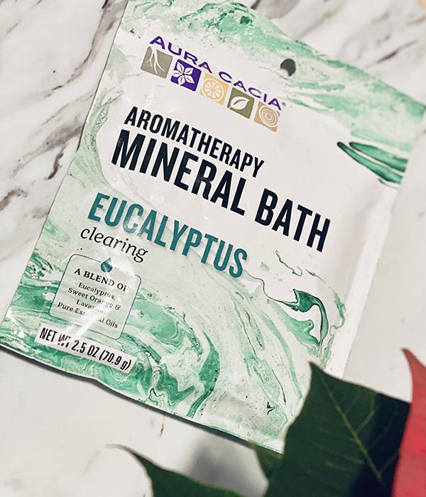 Wellness Stocking Stuffers Aromatherapy Mineral Bath