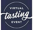 Virtual tasting event icon