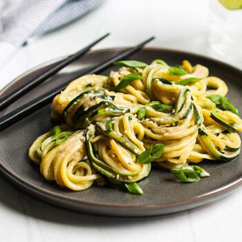 Thai-Style Zucchini Noodles