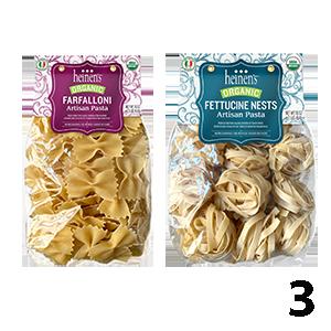 Heinen's Organic Artisan Bagged Pastas