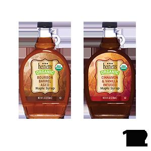 Heinen's Organic Maple Syrups