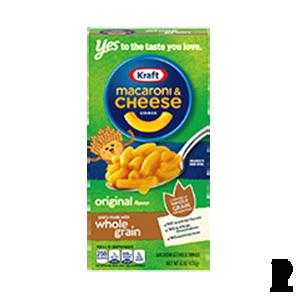 Kraft Whole Grain Macaroni and Cheese