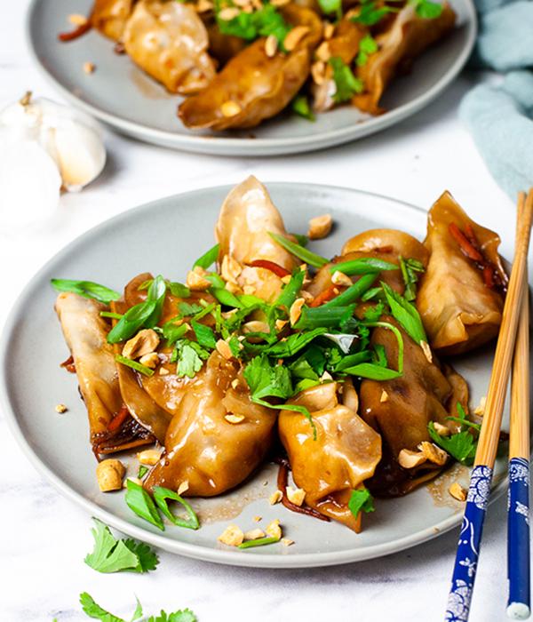 Pad Thai Potstickers