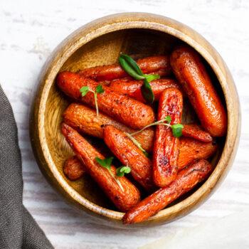 Sweet Cinnamon Roasted Carrots