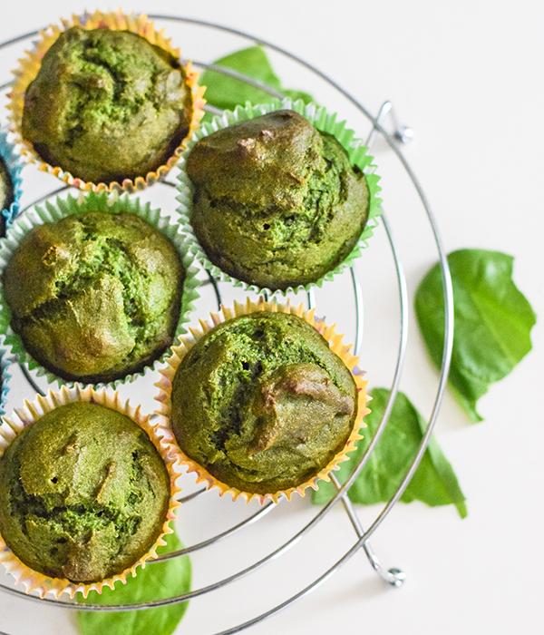 Green Monster Blender Muffins