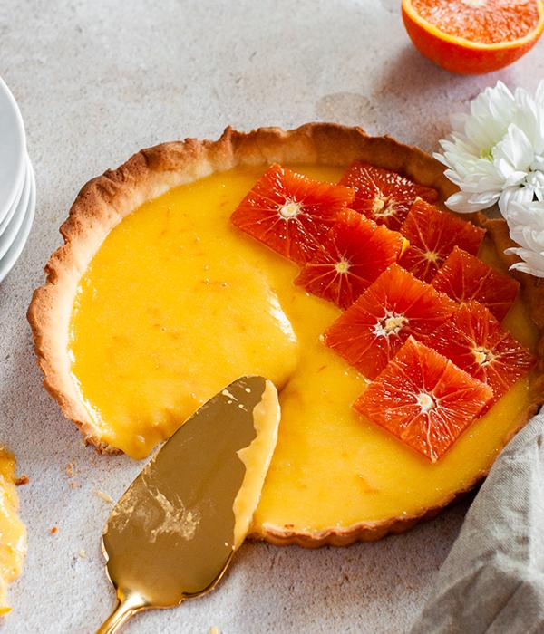Orange Blossom Tart