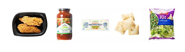 Chicken Parmesan Sammie Ingredients
