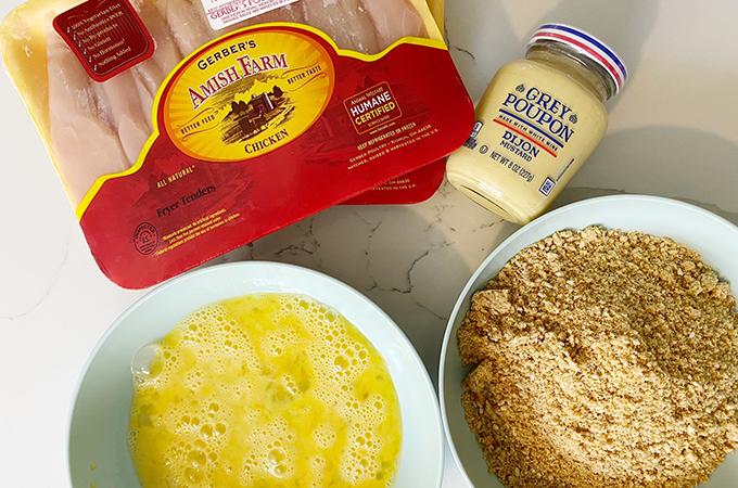Pretzel-Crusted Chicken Tender Ingredients
