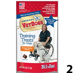 Bil-Jac Vetdogs Peanut Butter Flavor Training Treats