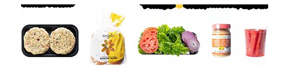 Southwest Chickpea Burger Ingredient