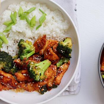 Chicken Broccoli Teriyaki Bowl
