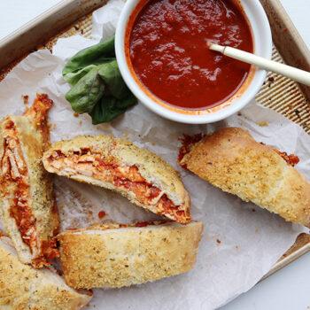Chicken Parmesan Calzone