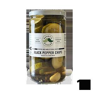 Randy's Black Pepper Pickle Chips