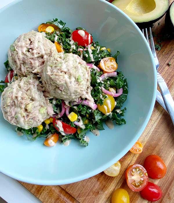 Tuna Kale Salad
