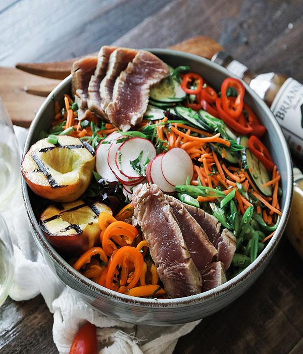 Asian Grilled Tuna Salad