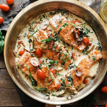 Florentine Salmon