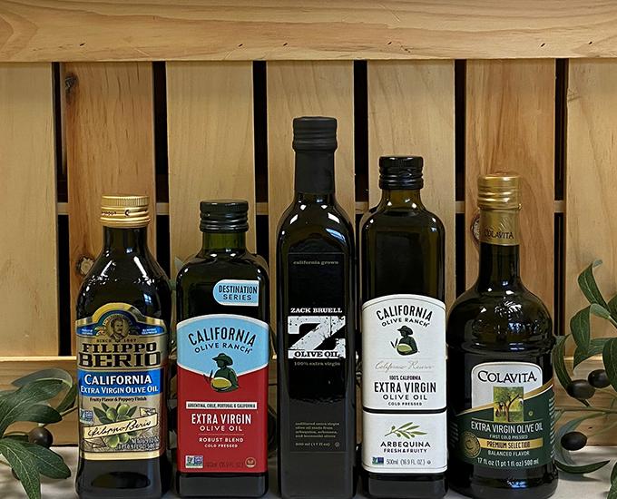 California Olive Oils