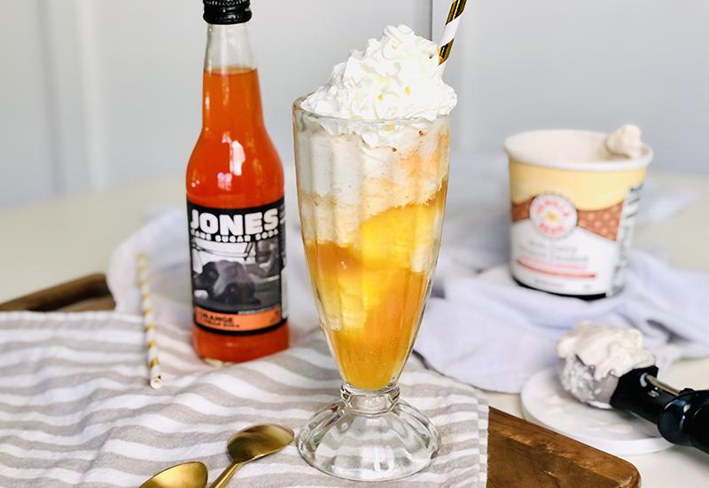 Orange Creamsicle Float