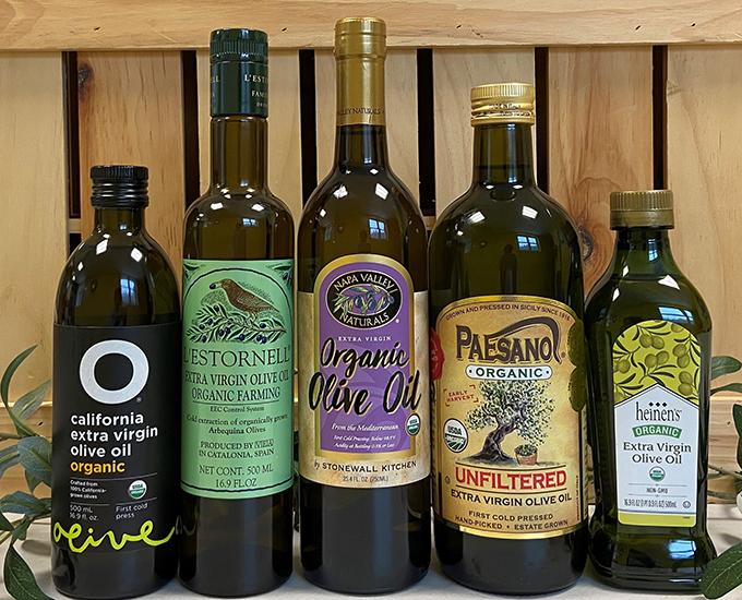 Organic Olive Oils