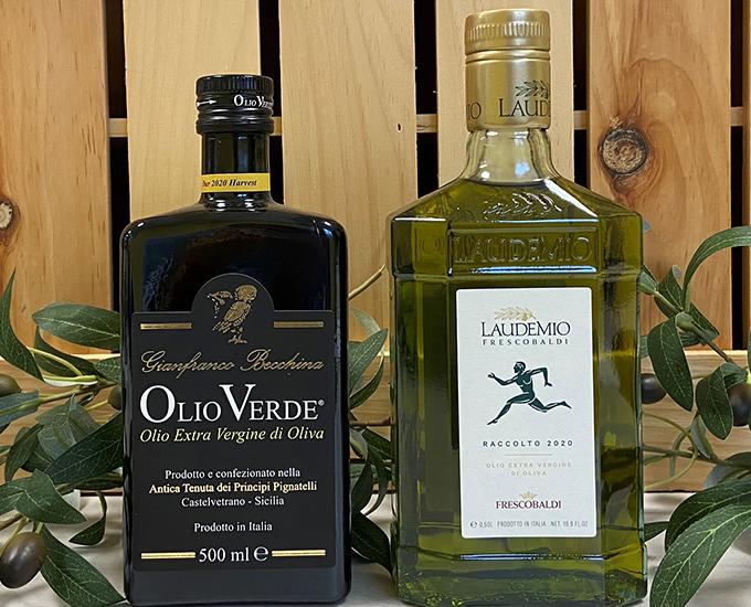 Top Shelf Olive Oils