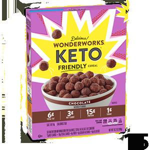 Wonderworks Chocoalte Keto Friendly Cereal