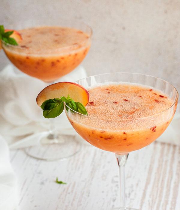 Peach Margarita Slushie
