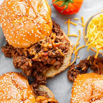 Bacon Cheeseburger Sloppy Joe