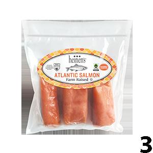 Heinen's 2-Pound Frozen Atlantic Salmon
