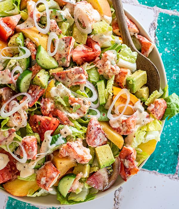 Lobster & Heirloom Tomato Salad