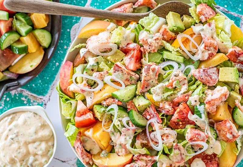 Lobster Heirloom Tomato Salad
