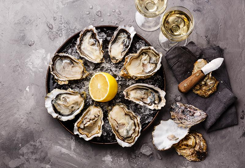 Shellfish and White Wine Pairing
