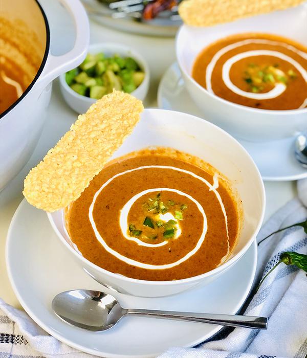 Shishito Pepper Soup