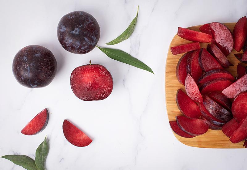 Sliced Stone Fruit