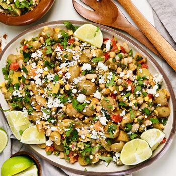 Tex-Mex Potato and Bean Salad