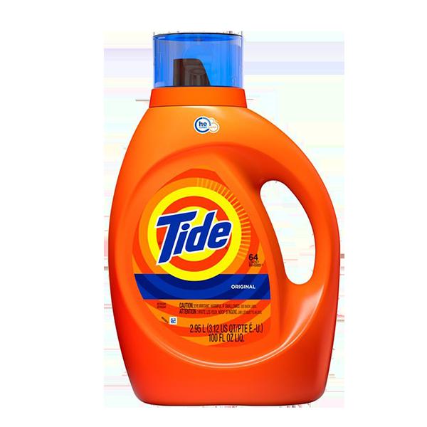 Tide Laundry Detergent Bottle